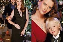 Cała rodzina Janiaków w świątecznej kampanii Apartu