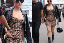 Lady Gaga kupuje kawę w kurtce wartej 20 tysięcy złotych