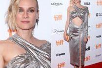 Diane Kruger odsłania brzuch w sukience za 7 tysięcy