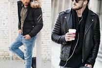 Czarna kurtka zimowa - ponadczasowy trend w stylizacjach celebrytów