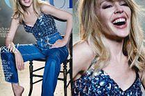 """Dziewczęca Kylie Minogue w sesji dla hiszpańskiego """"Vogue'a"""""""