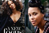 "Naturalna Alicia Keys na okładce ""The Edit"""
