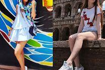 Modne białe tenisówki - z czym je noszą celebrytki?