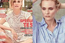 "Romantyczna Diane Kruger na okładce ""Elle"""