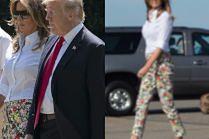 Odprężona Melania Trump wybiera się na wczasy podczas protestów