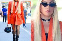 Lady Gaga kuśtyka na 20-centymetrowych obcasach