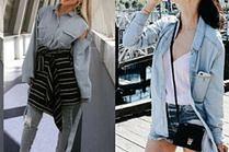 Jeansowe koszule damskie - 5 inspiracji