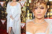 """""""Hollywoodzka"""" Jennifer Lopez z loczkami na czole"""