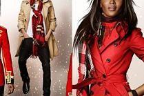 Naomi Campbell, Elton John i Romeo Beckham w świątecznej kampanii Burberry!