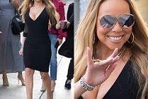 """Odchudzona Mariah Carey chwali się ciałem w """"małej czarnej"""""""