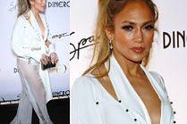 Majtki Jennifer Lopez promują nowy singiel w Las Vegas
