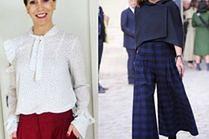 Z czym nosić spódnico-spodnie? 5 inspiracji