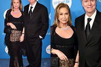 Rodzice sióstr Hilton bawią się na balu UNICEF-u