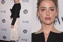 Zgrzana Amber Heard na charytatywnej ściance