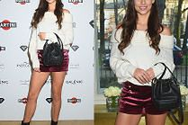Miss Polonia odsłania nogi w kusych szortach