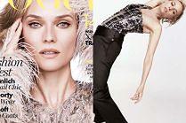 """Diane Kruger wygina się w niemieckim """"Vogue'u"""""""