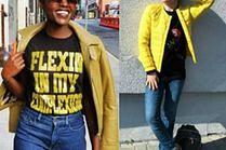 Żółte kurtki w stylizacjach gwiazd