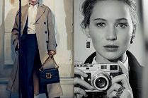 Dostojna Jennifer Lawrence w reklamie Diora