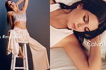 Siostra Kim w nowej kampanii Calvina Kleina