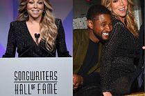 Odchudzona Mariah Carey imprezuje z Usherem