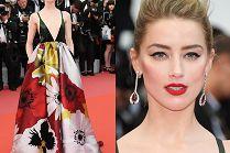 Zachwycająca Amber Heard eksponuje dekolt na premierze filmu