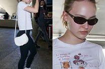 Lily-Rose Depp znowu cierpi na lotnisku