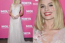 Dziewczęca Margot Robbie w sukni za 100 TYSIĘCY