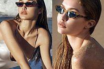 Seksowna Gigi Hadid pręży się w reklamie okularów własnego projektu