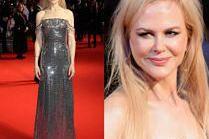 Nicole Kidman w srebrnej kreacji na festiwalu w Londynie