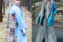 Błękitne płaszcze - największe trendy