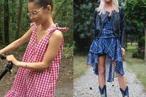 Z czym nosić sukienkę w kratę? 5 pomysłów