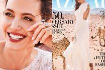 Angelina Jolie na nowej okładce