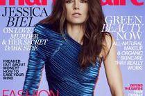 """Jessica Biel na okładce """"Marie Claire"""""""