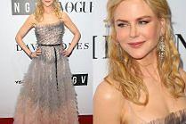 50-letnia Nicole Kidman pozuje w sukni od Diora