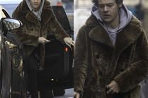 Harry Styles w NATURALNYM futrze za 27 tysięcy złotych
