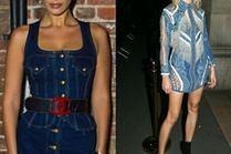 Jakie sukienki jeansowe wybierają gwiazdy?