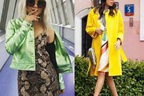 Neonowe kurtki - z czym łączą je gwiazdy?