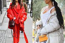 Zimowe kurtki w stylizacjach celebrytek