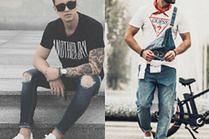 Najciekawsze T-shirty na lato w stylizacjach celebrytów