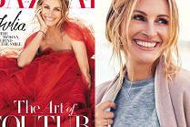 "Kobieca Julia Roberts na okładce ""Harper's Bazaar"""