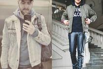 Bluza z kapturem w miejskich stylizacjach celebrytów