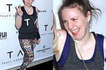 Odchudzona Lena Dunham pozuje w legginsach