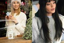 Swetry robione na drutach w stylizacjach gwiazd