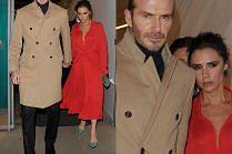 Wystylizowani Beckhamowie wychodzą z imprezy