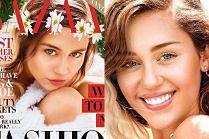 """""""Normalna"""" Miley Cyrus pozuje z wiankiem na głowie"""