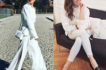 Z czym łączyć białe spodnie? 5 inspiracji