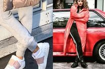Sneakersy damskie - z czym je łączą gwiazdy?