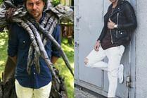 Białe spodnie w stylizacjach celebrytów