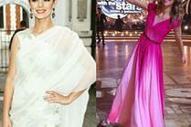 Piękne sukienki z szyfonu w stylizacjach gwiazd