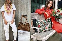 Podróżne torby damskie w stylu celebrytek